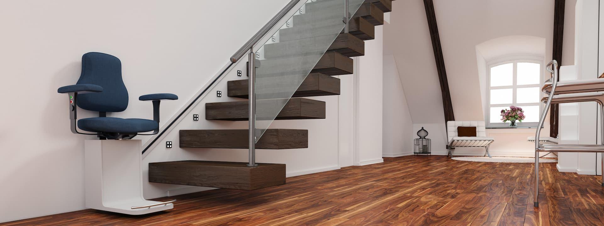 Les monte-escaliers droits